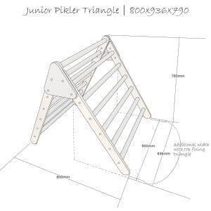 Junior Triangle Gretton Grey