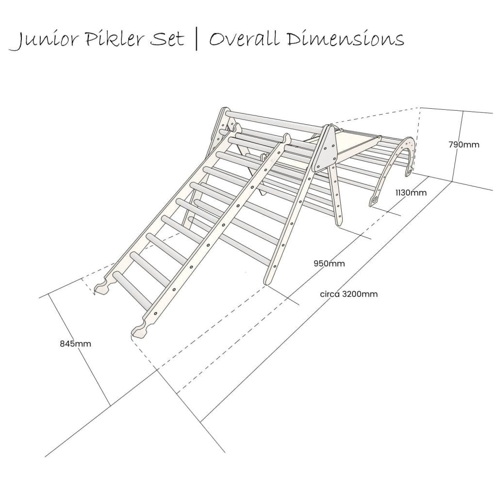 Junior Pikler Set Schematic