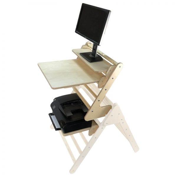 Junior Pikler Inspired Desk Extension Set Natural