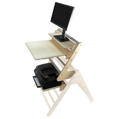 Junior Desk Extension Set Gretton Grey