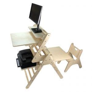 Senior Pikler Desk set with junior desk