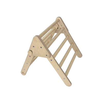 Nursery Pikler Inspired Climbing Triangle Natural