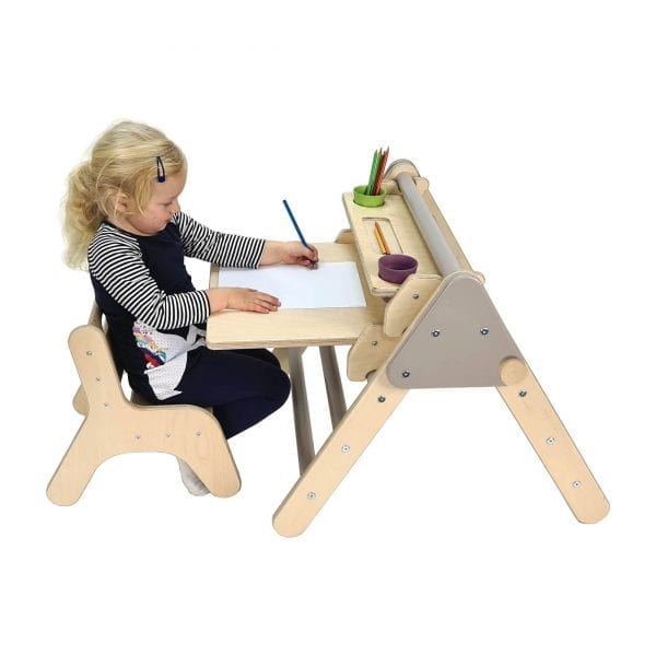 Nursery Desk Set Gretton Grey