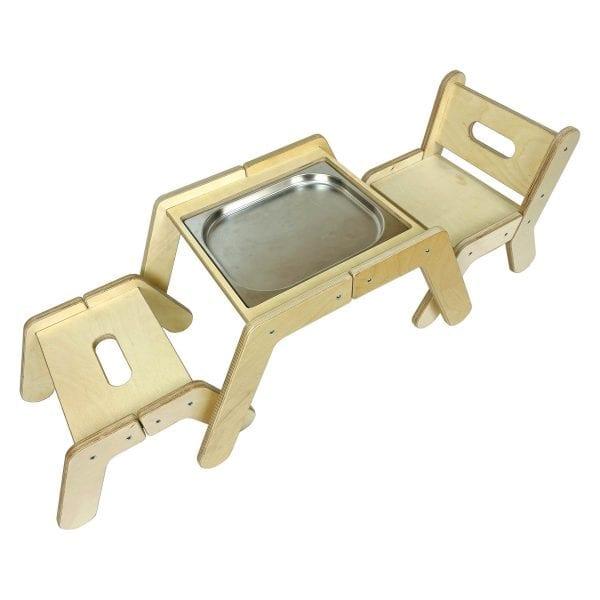 Nursery Dual Sensory Tray Table Set