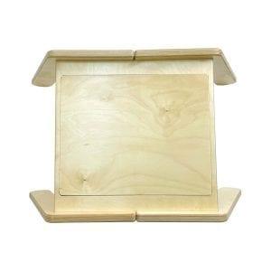 Nursery Single Sensory Tray Table top view cover on