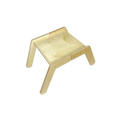 Nursery Single Sensory Tray Table with cover on