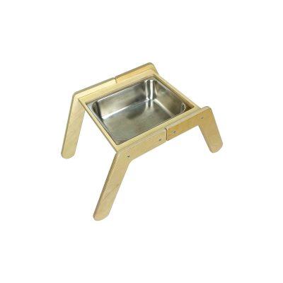 Nursery Single Sensory Tray Table with sink