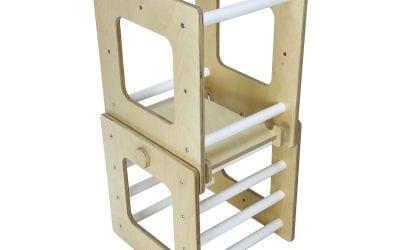 Ligneus Cube Activity Tower